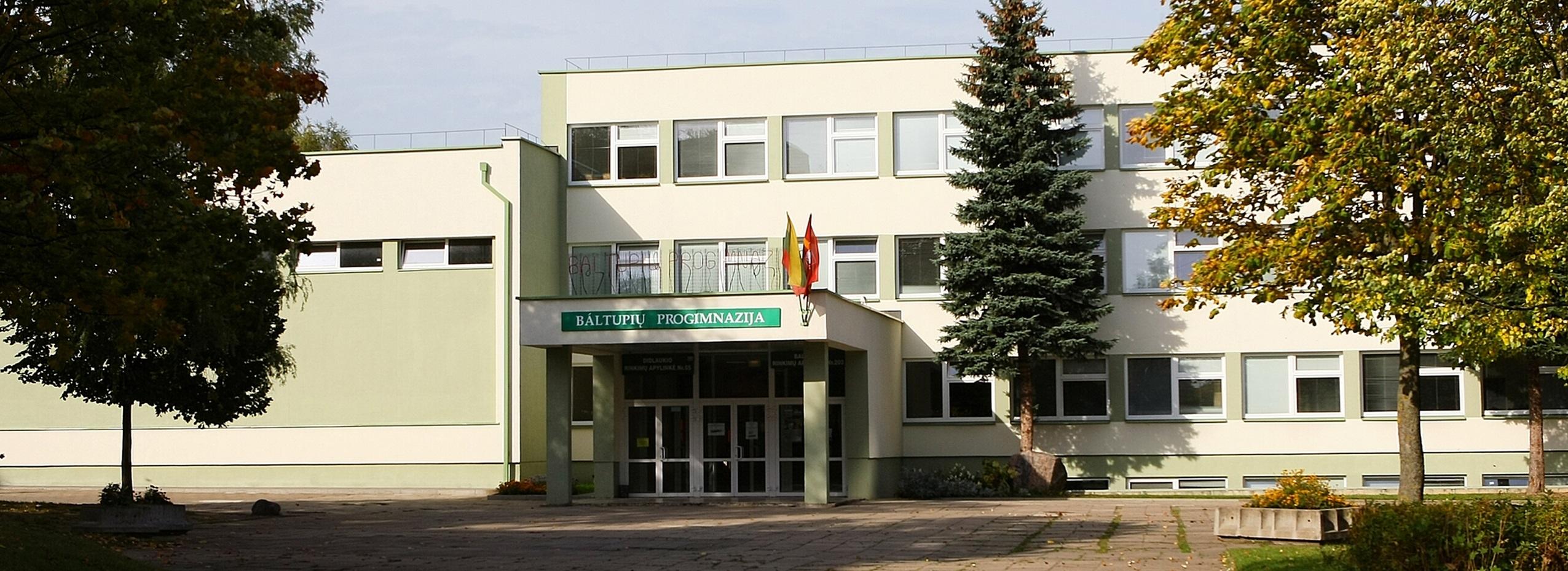 <h1><center> Baltupių mokykla tapo progimnazija 2011 m.<br> 2011 m. - 601 mokinys<br>2014 m. - 732 mokiniai<br>2015 m. - 809 mokiniai. <br></center> </h1>    </div>    <div class=