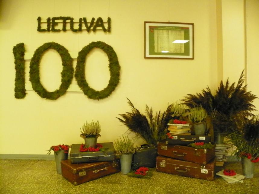 Lietuvai – 100 gera