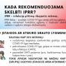 Kada skelbiamas IPRR (9)